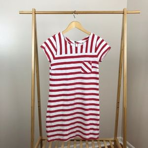 Old Navy • Striped Red White Cotton Dress Size XS